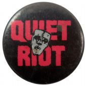 Quiet Riot - 'Name Mask' Button Badge